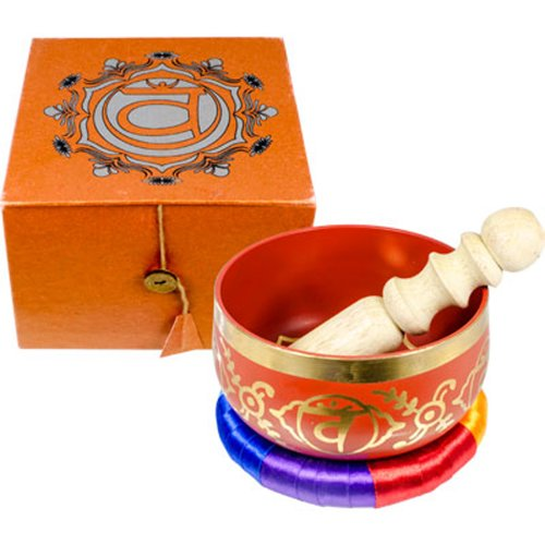 Kheops International - Chakra Gesangschale Orange-Sacral (31245) Kheops International - Chakra Singing Bowl Orange-Sacral (31245)