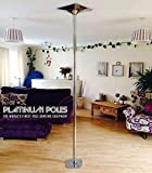 1x Pole Dancing Pole 45mm Spinning & Statische-Tragbar Fitness Übungs Stripper Professionelles Pole Dancing Set