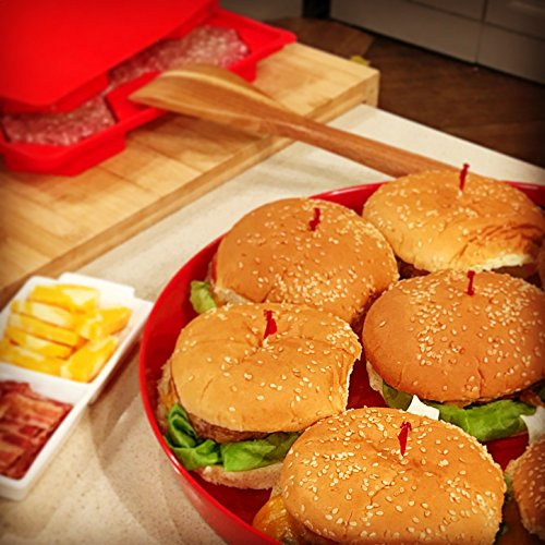 Burger Master 8 in 1 Burger Press and Freezer Container