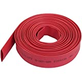 Tuberia del encogimiento del calor - TOOGOO(R) Ratio 2:1 10mm de diametro tubo rojo de termocontraible de poliolefina de 6M