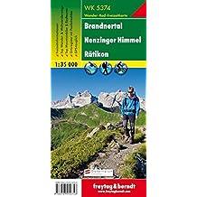 Freytag Berndt Wanderkarten, WK 5374, Brandnertal - Nenzinger Himmel - Rätikon - Maßstab 1:35.000 (freytag & berndt Wander-Rad-Freizeitkarten)