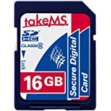 takeMS 88634 16384 Mo Carte mémoire SDHC