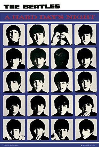 GB Eye LTD, The Beatles, A Hard Day'S Night, Maxi Poster 61 x 91,5 cm