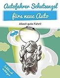 Auto Schlüsselanhänger Schutzengel - Schlüsselanhänger aus Metall für das neue