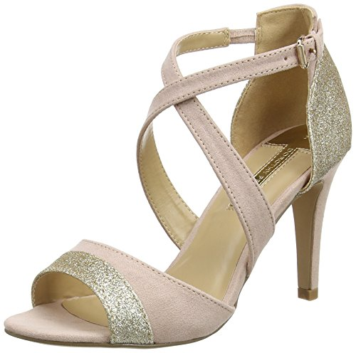 Dorothy Perkins Damen Sasha Peep-Toe Pumps, Rosa (Blush),  38 EU (5 UK)