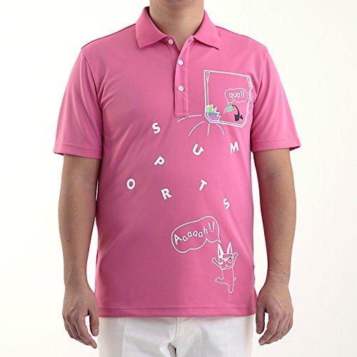 Two And One Herren Wear M Kurzarm Shirt Pink L Größe Golf Wear Damen Weste Damen Komplettsets Golf-Club Komplettsets
