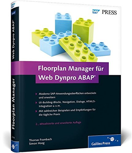 Floorplan Manager für Web Dynpro ABAP: Moderne SAP-Oberflächen entwickeln (SAP PRESS) Buch-Cover