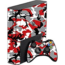GADGETS WRAP Xbox 360 Full Red Camo Skin For Console & Controller