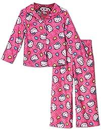 Hello Kitty infantil con forma de pijama de franela rosa