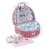 Dinette Fée en porcelaine - Set de Pique-nique 32 pièces pour enfants - Lucy Locket
