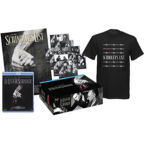 la-lista-de-schindler-schindlers-list-1993-pack-collector-blu-ray-tshirt-8-post-cards-poster-blu-ray