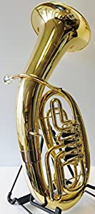 Symphonie Wester Forest Baritone/Baritone Horn Gold/Silver, 4Valves, Minibal Joint with Deluxe Gig Bag-New