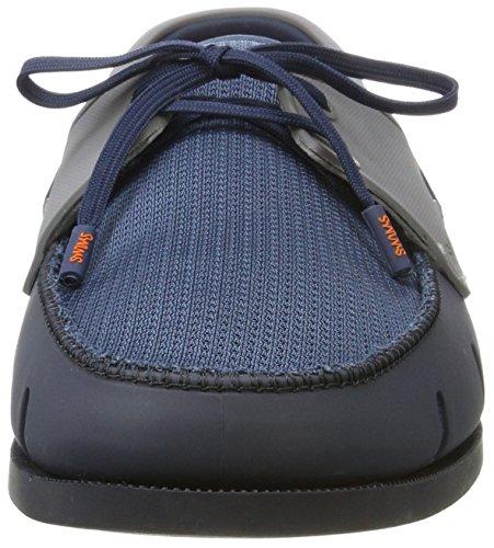 Swims Boat Loafer, Mocassini Uomo Blue (Navy/Blitz Blue/White)