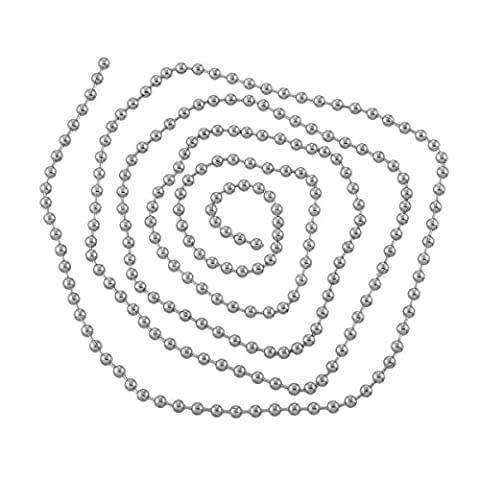 Chaine Creation Bijou - Housweety 2 mètres Chaine collier Maille Boule