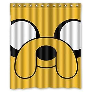 Adventure Time Custom Rideau de douche 152,4x 182,9cm de salle de bain Rideaux