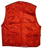 Freizei Outdoor Anglerweste Angel Weste rot XL