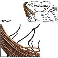 Braideez - Correa Trenzada, RDBWBR, marrón