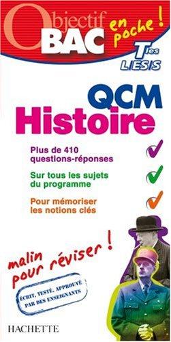 QCM Histoire Tles L/ES/S