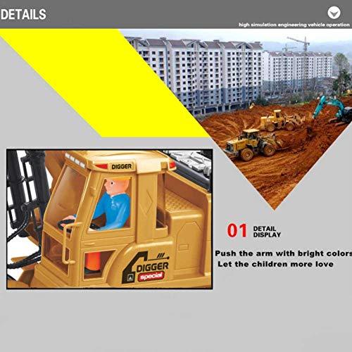 RC Auto kaufen Baufahrzeug Bild 6: Baufahrzeuge Ferngesteuerter Bagger Rc Kinder - 1:8 10-Kanal Ferngesteuerter Bagger Mit 2,4G Fernbedienung Elektrisches Spielzeug Für Kinder*