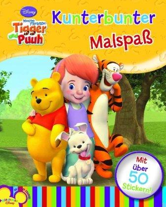 Disney: Malen Meine Freunde Tigger & Puuh