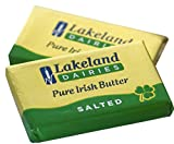 100 x Lakeland Irish Butter Individual Foil Wrapped Portions