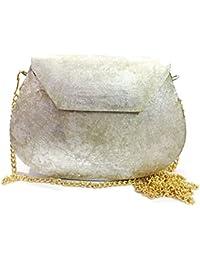 Antique Texture Design Sling Bag Ethnic Clutches Women Bridal Bag Metal Clutches Handbags For Women