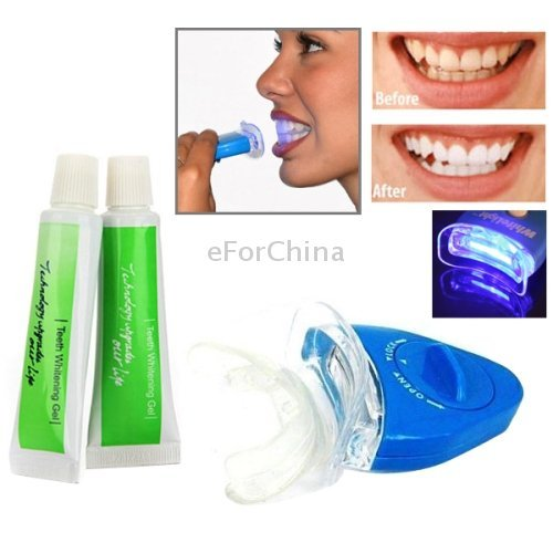 A&T White Light Teeth Whitening Kit For Personal Dental Care