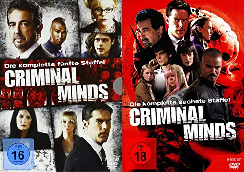 Criminal Minds - Die komplette 5. + 6. Staffel (12-Disc | 2-Boxen) - Mad Dvd Tv-season 5