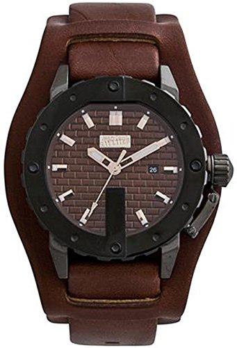 jean-paul-gaultier-8500102-reloj-de-pulsera-para-hombre-marron-plata