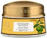 Forest Essentials Revitalising Kashmiri Walnut Gel Scrub, 50g
