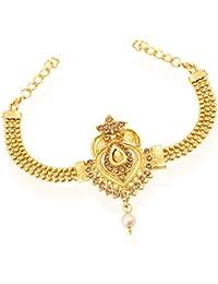 Sukkhi Charm Bracelet for Women (Golden) (BJ71706GLDPH400)