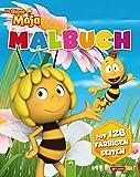 Malbuch Die Biene Maja: Mit 128 farbigen Seiten