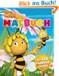 Malbuch Die Biene Maja: Mit 128 farbi...