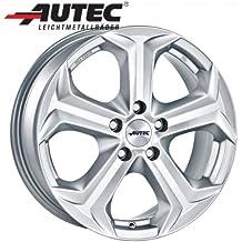 Aluminio Llanta autec Yucon Volkswagen Golf V 1K 6.5x 15Titanio Plata