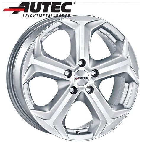 Aluminio Llanta autec Yucon Volkswagen Golf VII Cuatro brazo eje trasero AU 8.0x 18Titanio