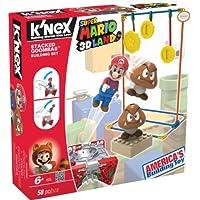 K'NEX 33131G - Set di costruzioni Super Mario Enemy Serie 1 Stacked Goombas