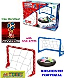 #10: TOY-STATION Kid's Magic Hover Football Toy Indoor Play Game - with 2 Goal Posts