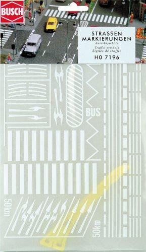 busch-environnement-bue7196-modelisme-ferroviaire-set-marquage-de-chaussees-echelle-ho