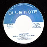 JIMMY SMITH 45 RPM Back At the Chicken Shack, Part I / Back At the Chicken Shack, Part 2
