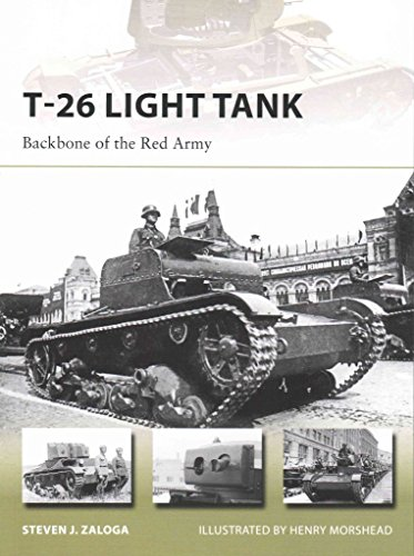 [(T-26 Light Tank : Backbone of the Red Army)] [By (author) Steven J. Zaloga ] published on (January, 2015)