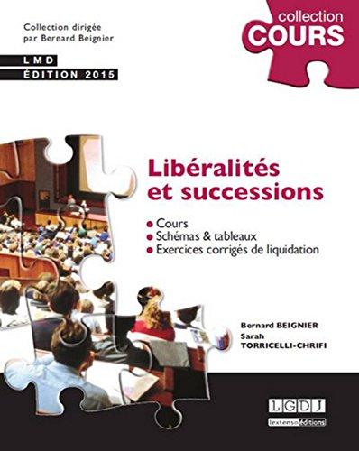 Libralits et successions