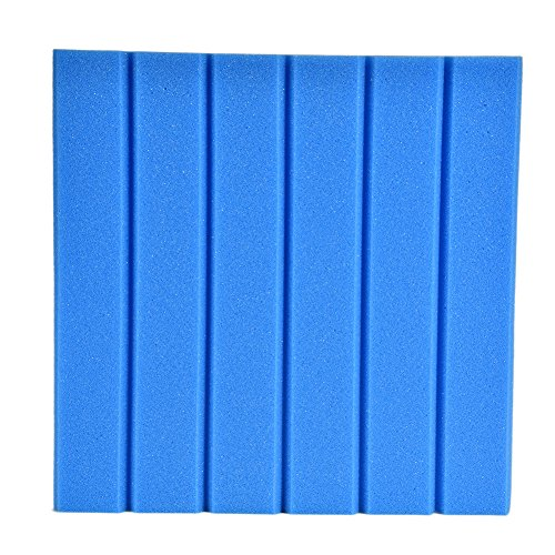 1 Stk Akustikschaumstoff 30*30cm Akustik Dämmung Akustik Schaumstoff Schallschutzisolierung LianLe (C, Blau)