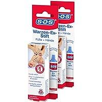 SOS Warzen-Ex-Stift (2er Pack) zur Entfernung gewöhnlicher Warzen preisvergleich bei billige-tabletten.eu