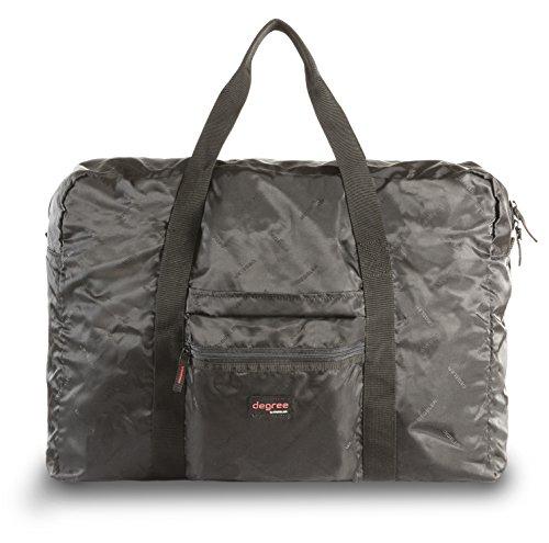 Ultraleichte Falttasche fürs Handgepäck | degree by DEGELER Faltbare Tasche für den täglichen Gebrauch & auf Reisen | geeignet als Reise- , Einkaufs- , Strand- , oder Sport-tasche für Damen & Herren (Nylon-einkaufstasche Check)