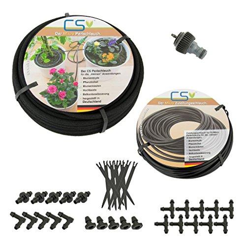 CS Mikro 7,5m Bewässerungs-Set Z1.11 Blumentopf, Pflanzkübel, Terrassen- und Urlbaubsbewässerung