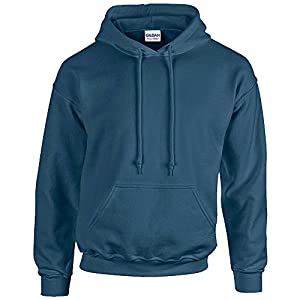 Gildan Heavy Blend Erwachsenen Kapuzen-Sweatshirt 18500 Indigo Blue, XL