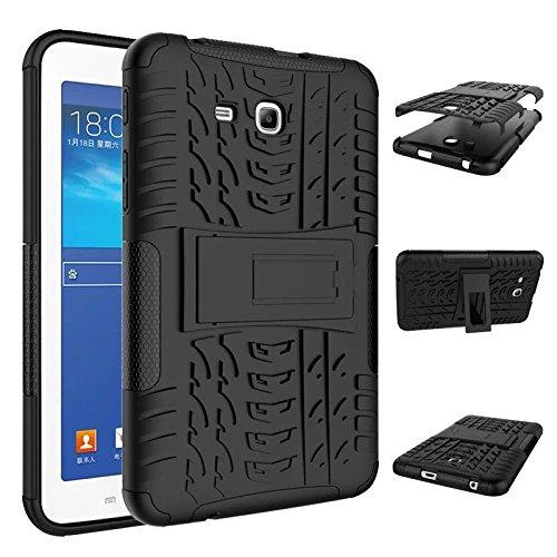 Dooki, Galaxy Tab 37.0Lite Tablet Case, [Kickstand High Impact] [Heavy Duty] [antiurto] [Resistenza alle cadute] (Custodia Protettiva In Gomma)