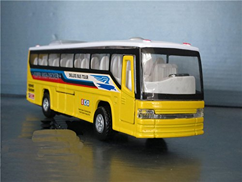 tourwin-yellow-luxury-coach-dream-tour-bus-simulation-diecast-car-model-collection-alloy-car-with-li