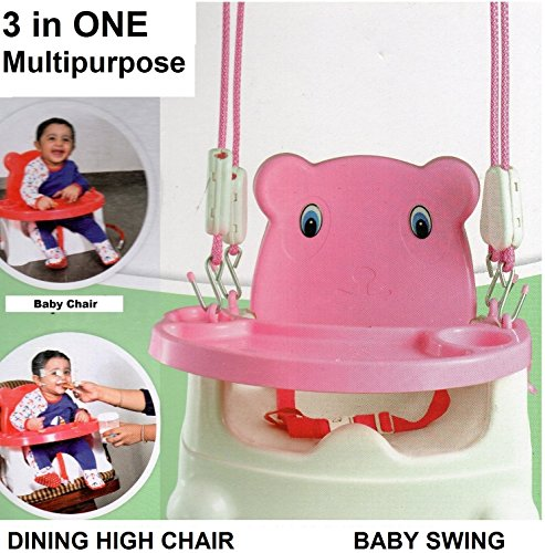 TruGud Baby Booster Seat / Swing ( Multipurpose Kids Feeding High Chair )