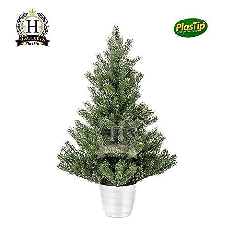Künstlicher Weihnachtsbaum Spritzguss Nordmanntanne ca. 90 cm Premiumtanne Kunsttanne
